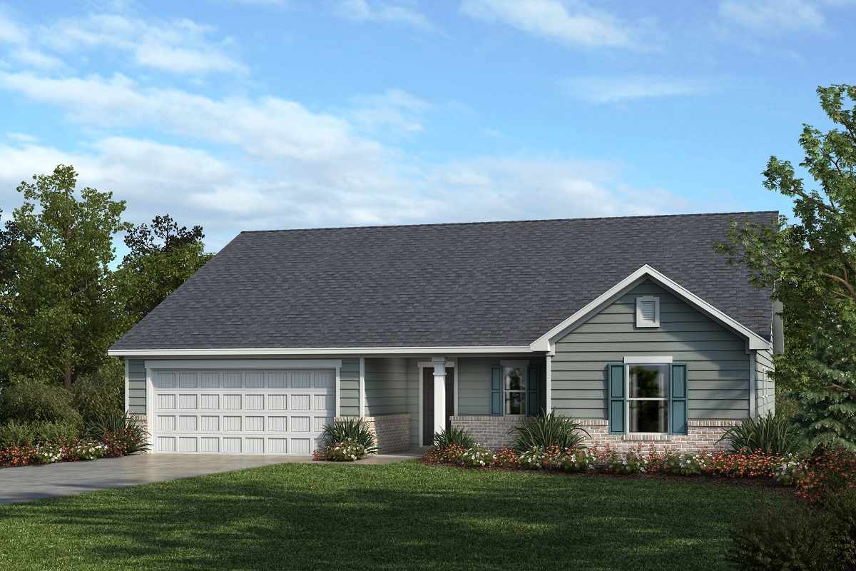 New Homes in Mebane, NC - Elevation A