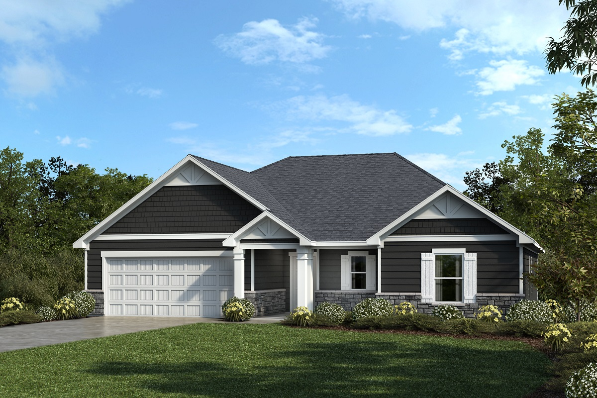 New Homes in Mebane, NC - The Retreat at Lake Michael The Hopewell