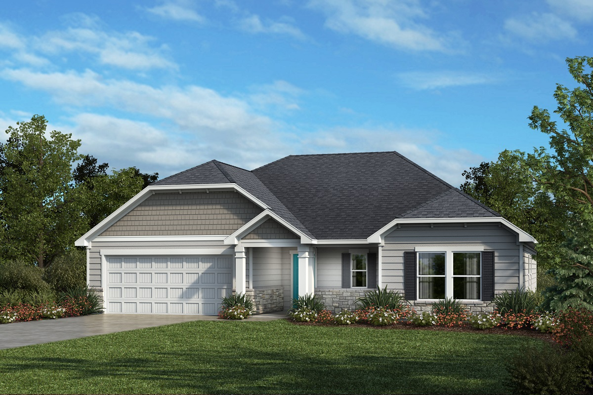 New Homes in Mebane, NC - Elevation D
