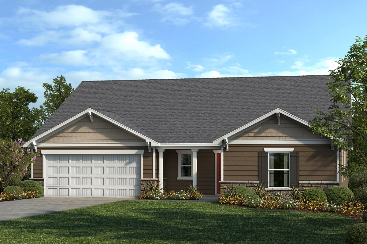 New Homes in Mebane, NC - The Shelby II