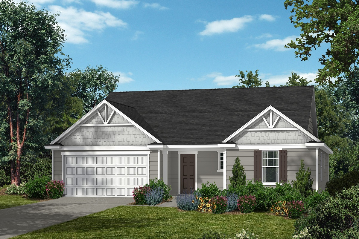 New Homes in Fuquay-Varina, NC - The Watson