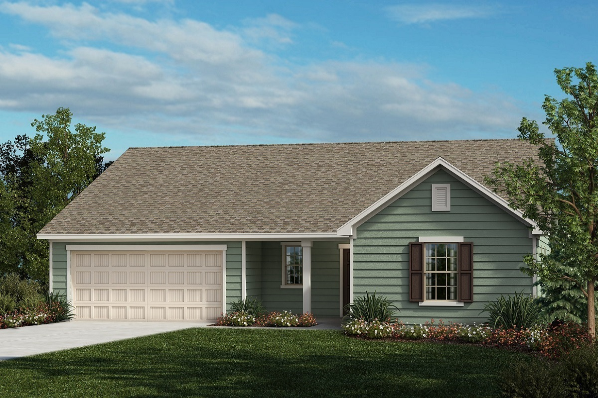 New Homes in Fuquay-Varina, NC - The Shelby II