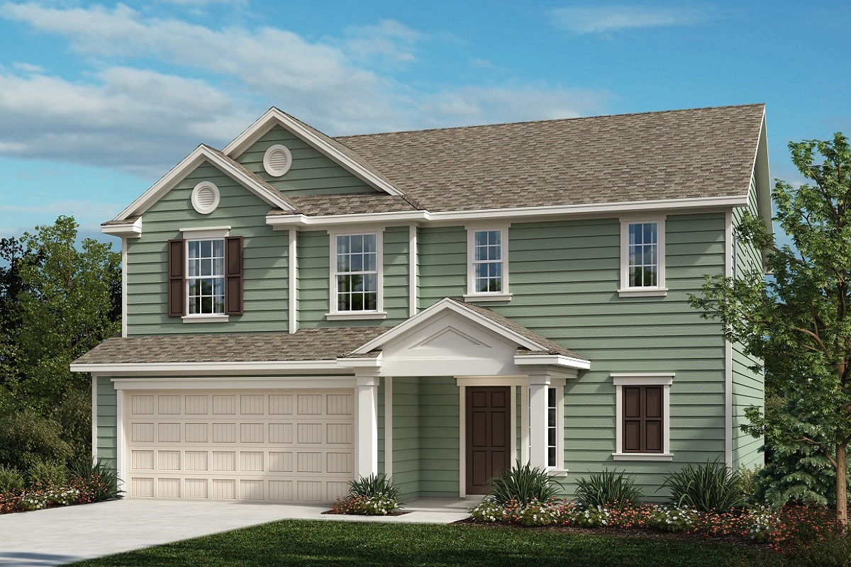 New Homes in Fuquay-Varina, NC - The Kuralt II