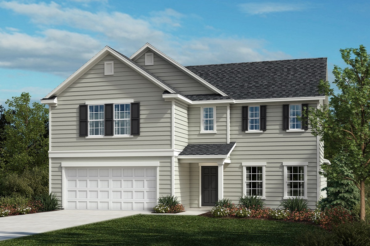 New Homes in Fuquay-Varina, NC - The Raeford