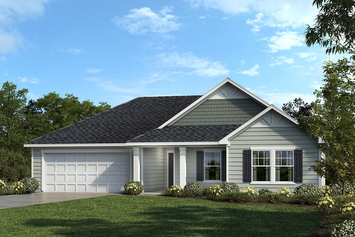 New Homes in Fuquay-Varina, NC - The Murphy