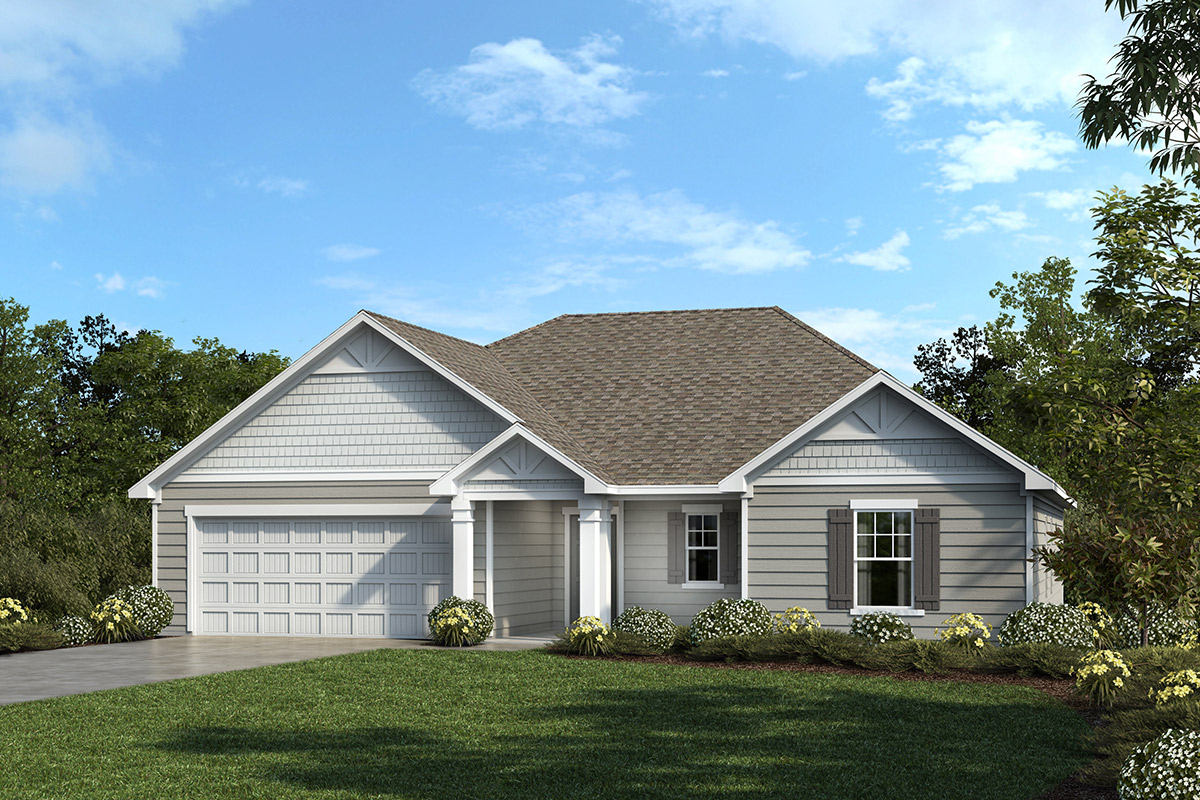 New Homes in Fuquay-Varina, NC - Elevation C
