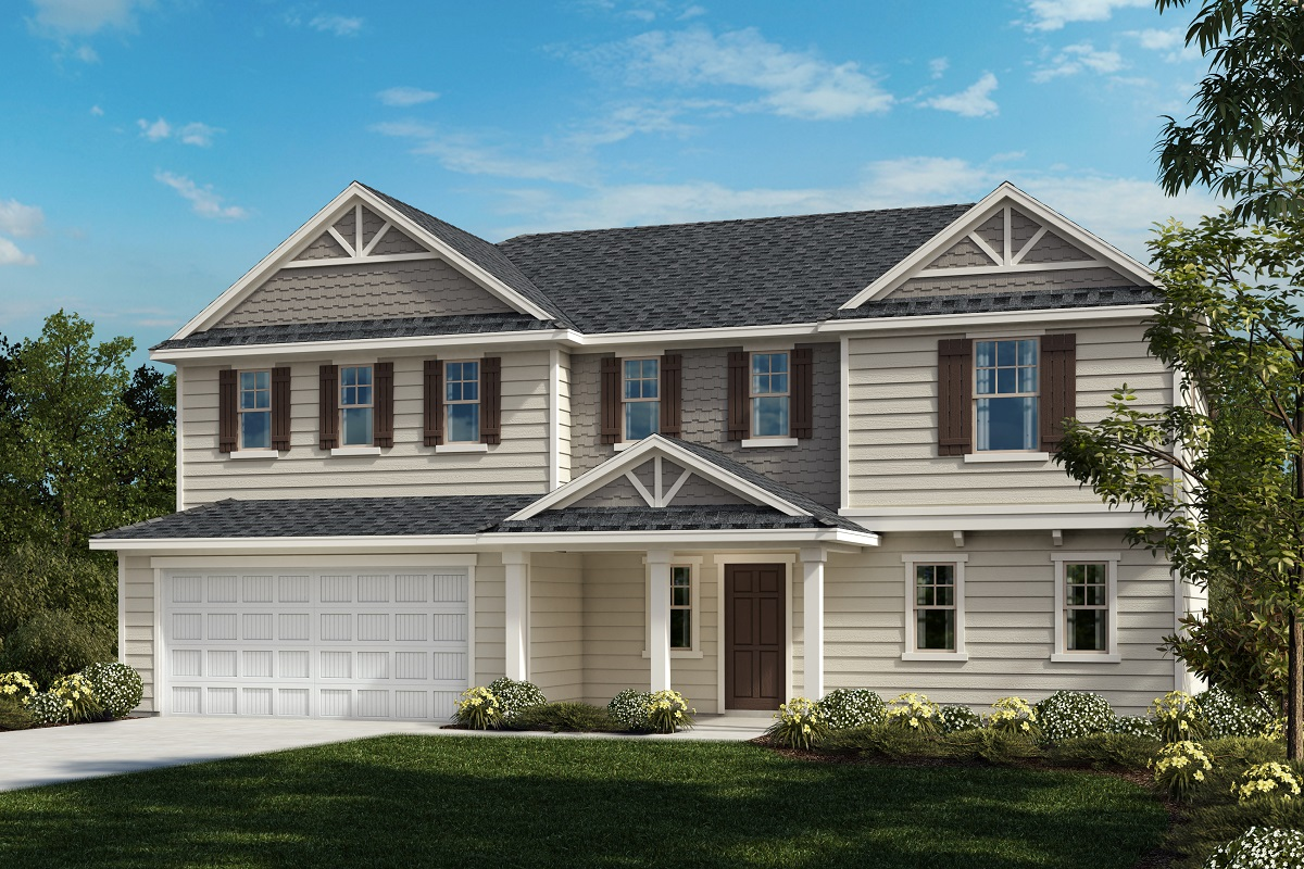 New Homes in Fuquay-Varina, NC - Mason Pointe The Plymouth