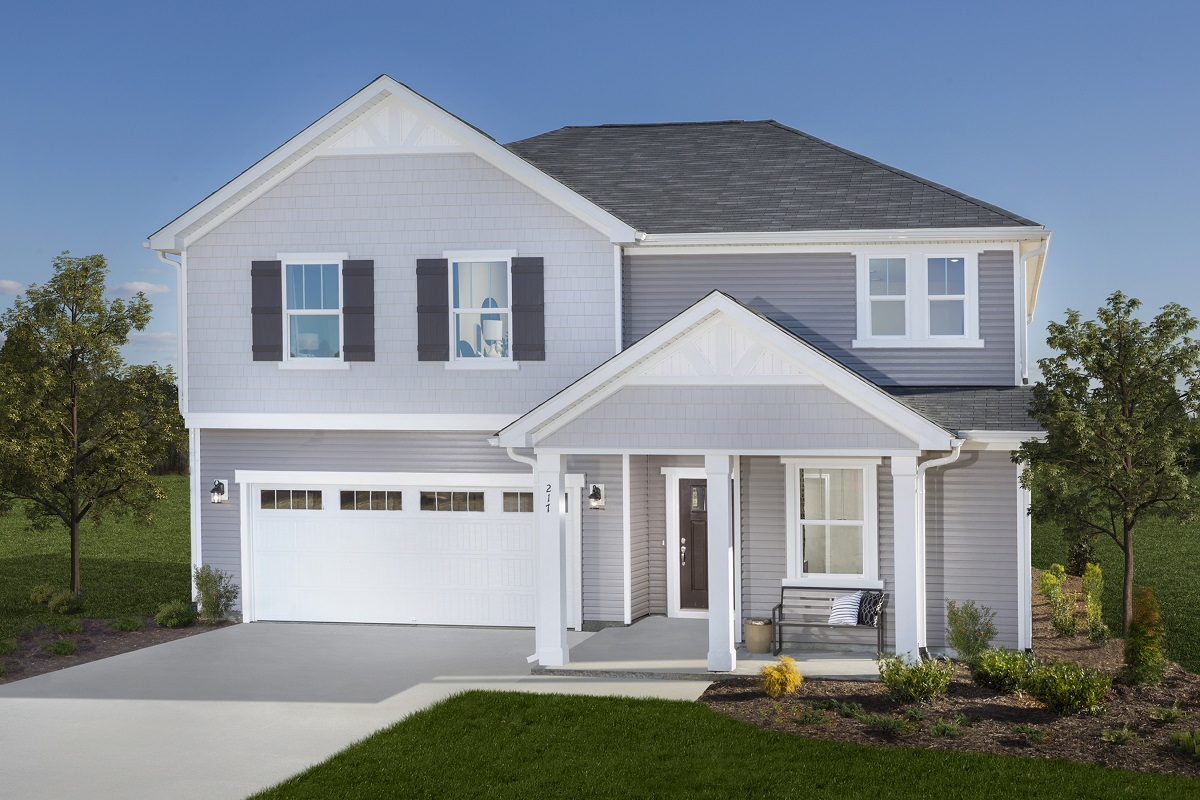 New Homes in Fuquay-Varina, NC - The Coltrane II Modeled