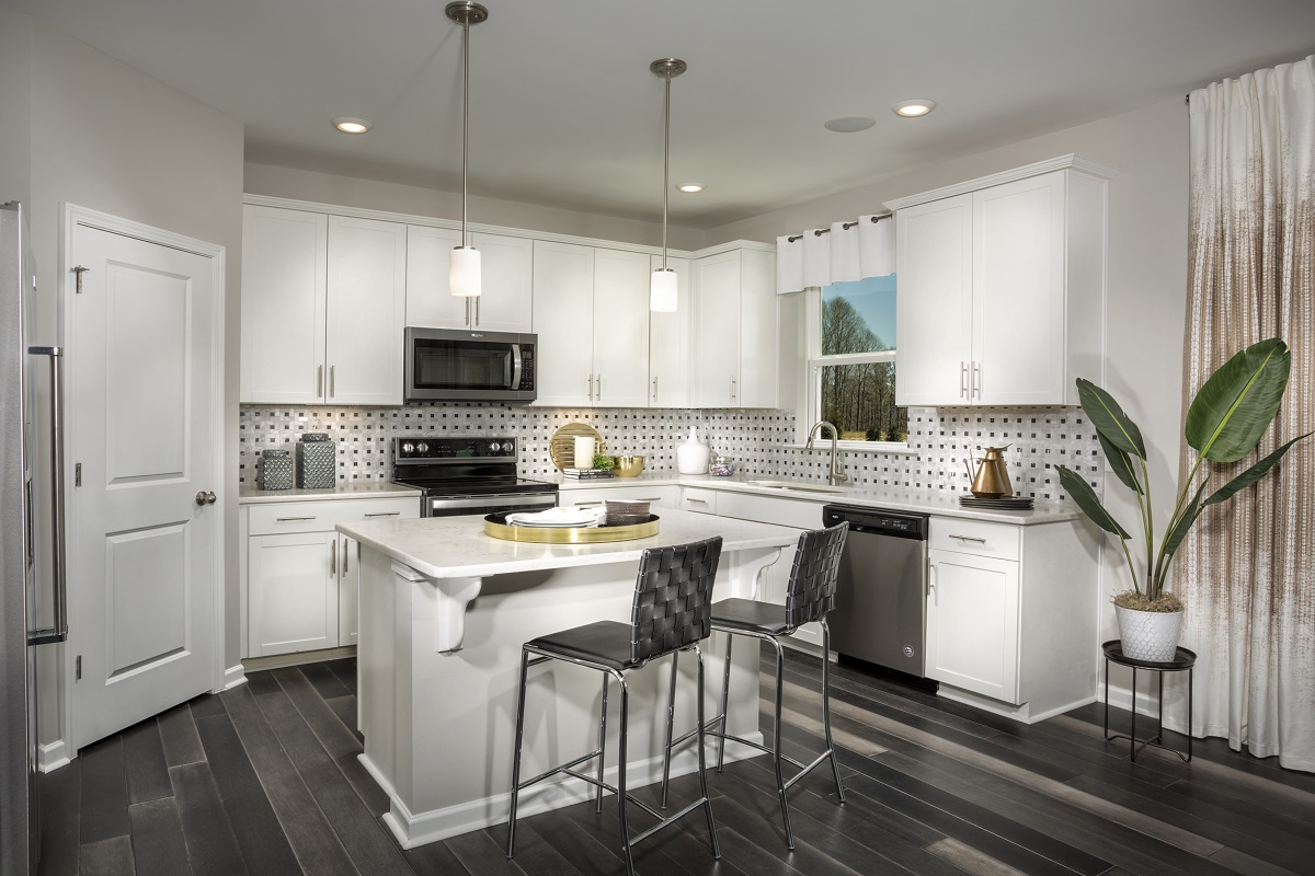 New Homes in Mebane, NC - The Retreat at Lake Michael The Coltrane II Kitchen