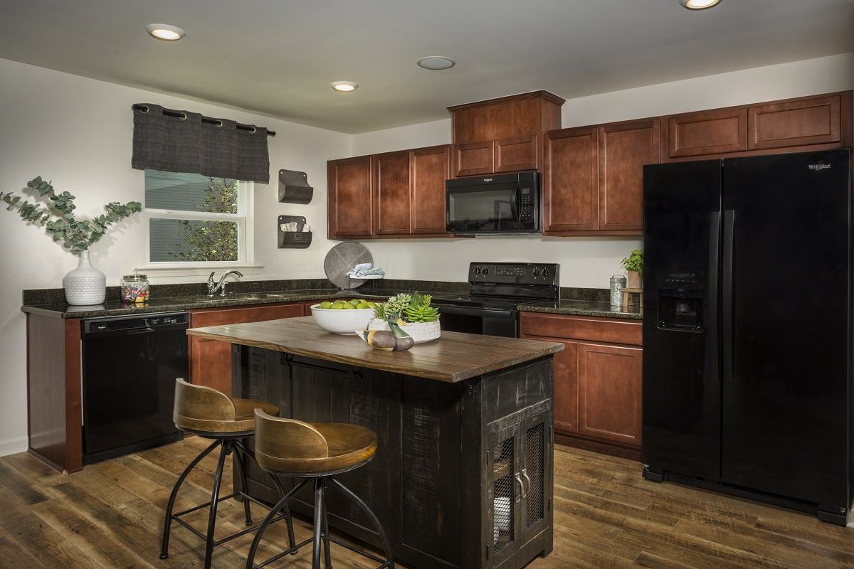 New Homes in Fuquay-Varina, NC - Mason Pointe The Daniels Kitchen