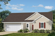New KB Home built-to-order homes available at Parks at Bass Lake in Holly Springs, NC. The Shelby II is one of many floor plans to choose from.