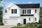 New KB Home built-to-order homes available at Parks at Bass Lake in Holly Springs, NC. The Andrews II is one of many floor plans to choose from.