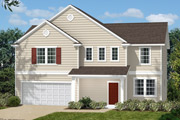New KB Home built-to-order homes available at Parks at Bass Lake in Holly Springs, NC. The Bayboro II is one of many floor plans to choose from.