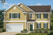 New KB Home built-to-order homes available at Parks at Bass Lake in Holly Springs, NC. The Laurinburg II is one of many floor plans to choose from.