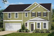 New KB Home built-to-order homes available at Parks at Bass Lake in Holly Springs, NC. The Danbury II is one of many floor plans to choose from.