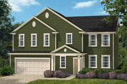 New KB Home built-to-order homes available at Parks at Bass Lake in Holly Springs, NC. The Fairview II Modeled is one of many floor plans to choose from.