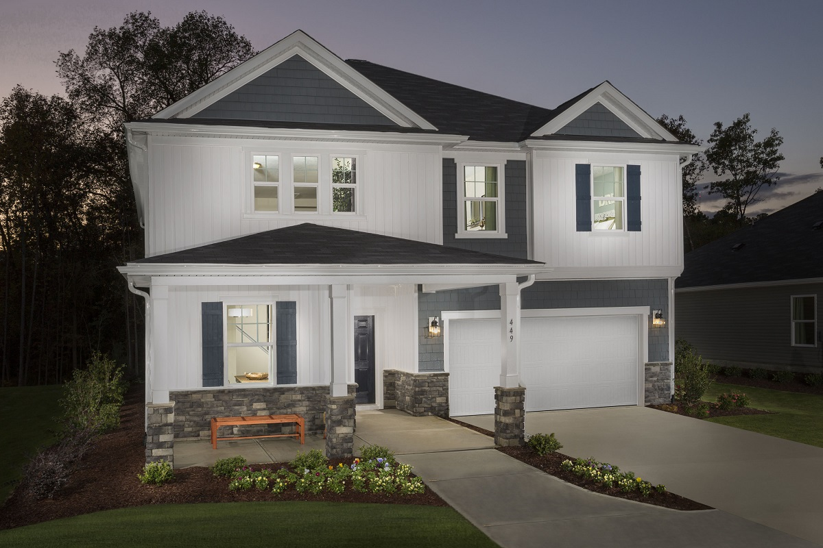 New Homes in Fuquay-Varina, NC - Partin Place The Coltrane II