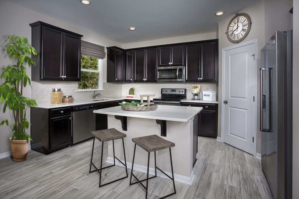 New Homes in Fuquay-Varina, NC - Partin Place The Coltrane II Kitchen