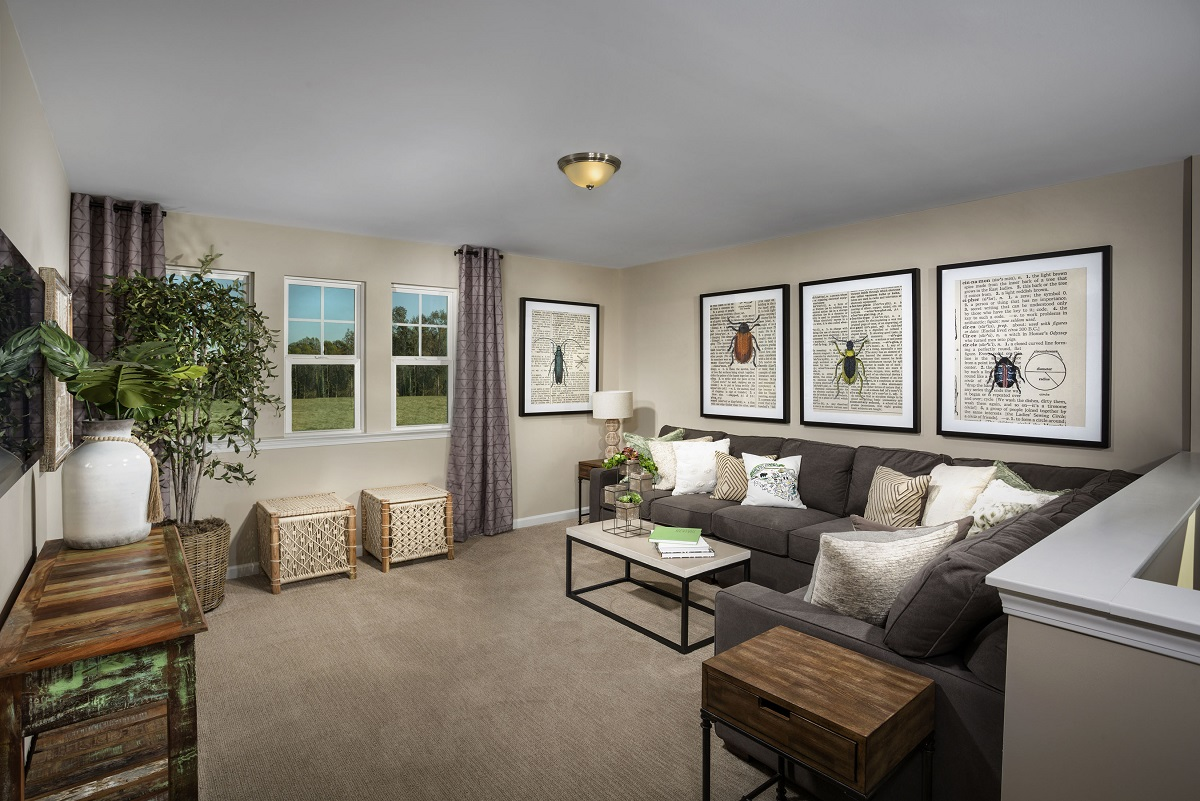 New Homes in Fuquay-Varina, NC - Partin Place The Coltrane II Loft