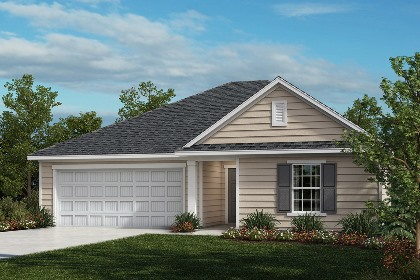 New Homes in Fuquay-Varina, NC - The Grayson Elevation A