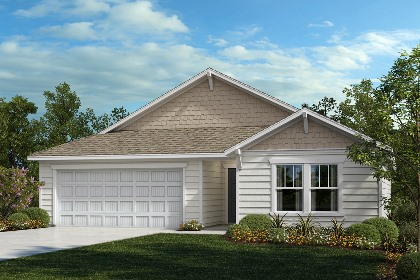 New Homes in Fuquay-Varina, NC - The Grayson Elevation B