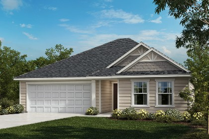 New Homes in Fuquay-Varina, NC - The Grayson Elevation C