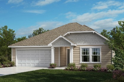 New Homes in Fuquay-Varina, NC - The Grayson Elevation D