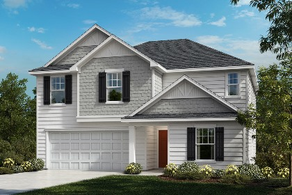New Homes in Fuquay-Varina, NC - The Hawkins Elevation C