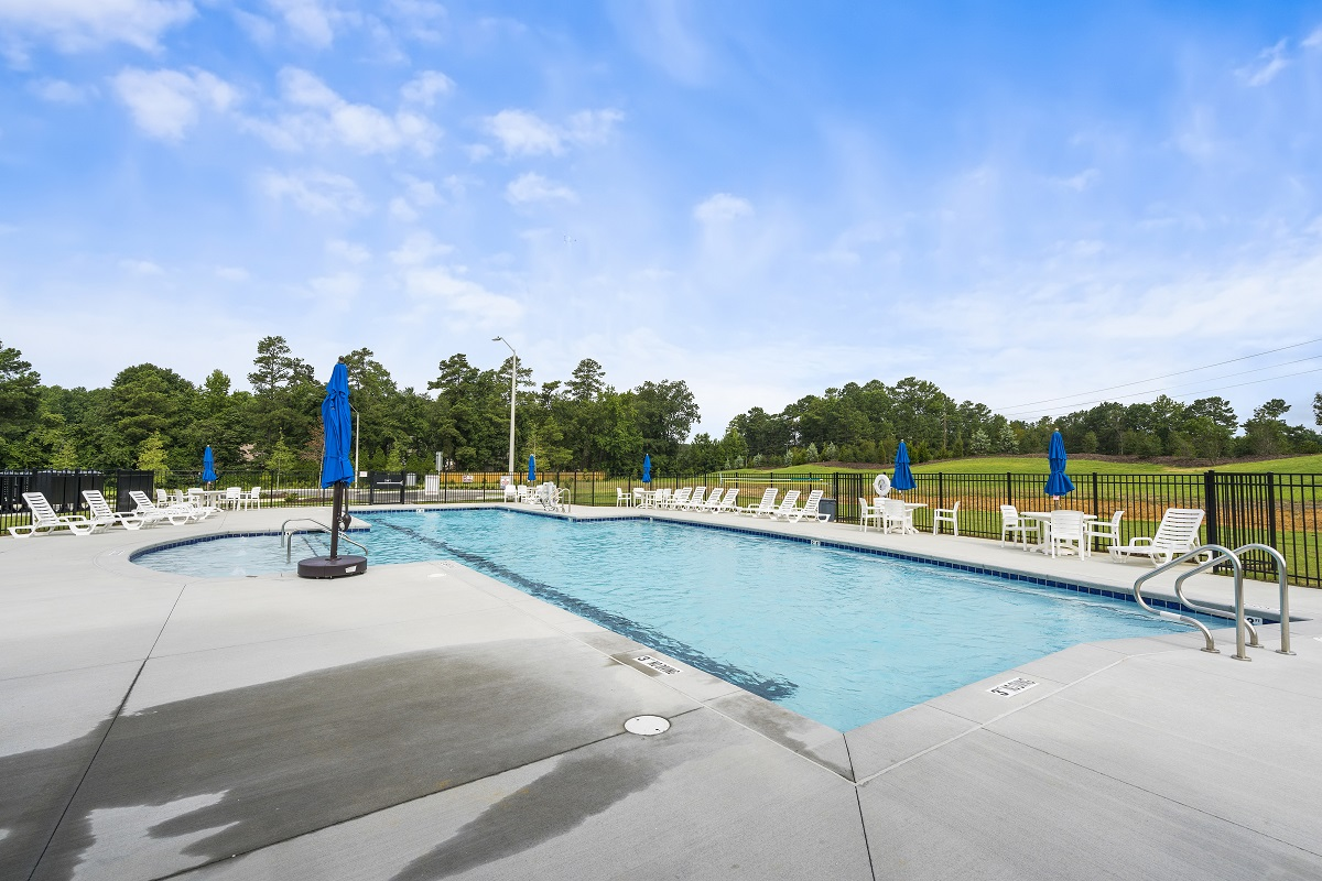 New Homes in Fuquay-Varina, NC - Partin Place Partin Place Pool