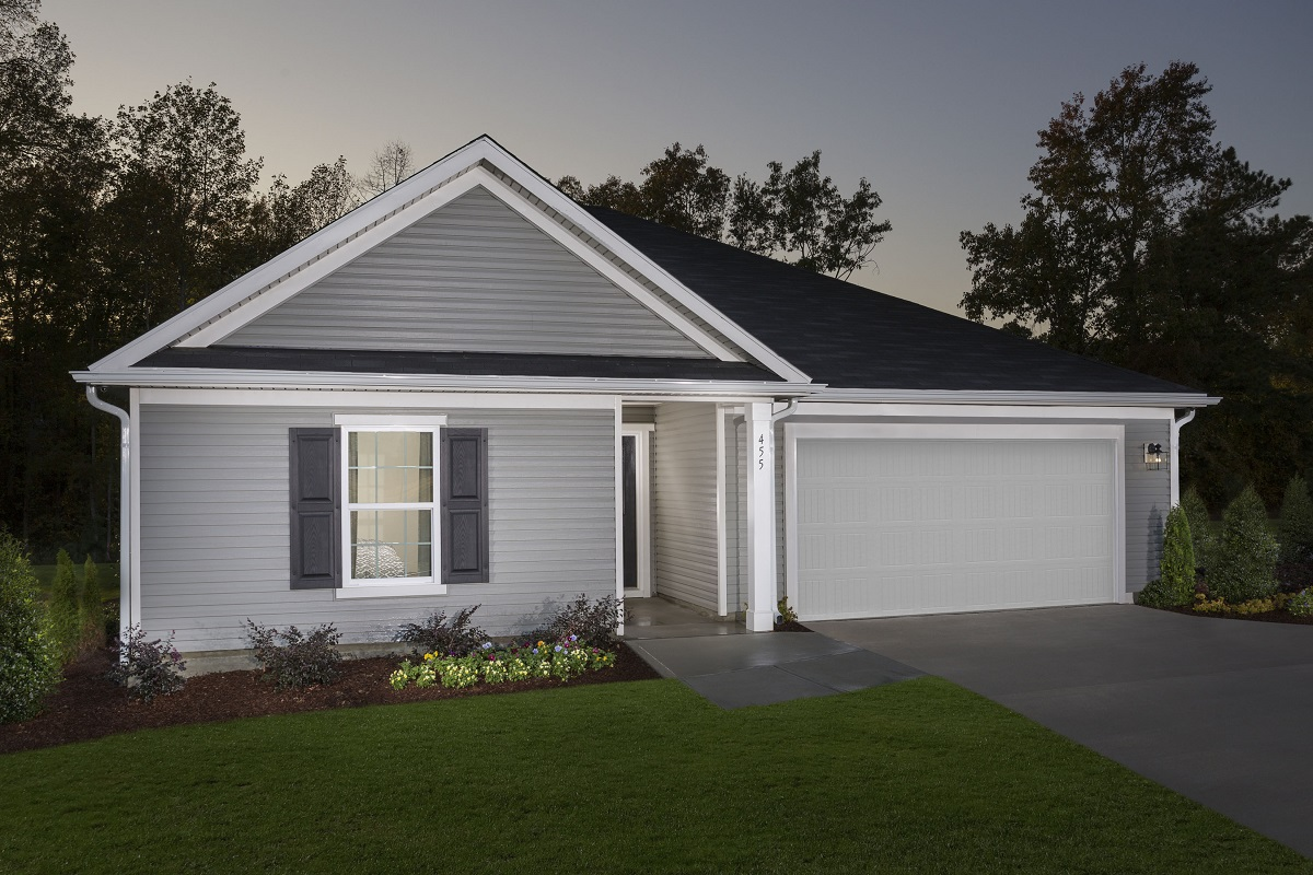 New Homes in Apex, NC - Belterra The Grayson Modeled at Partin Place