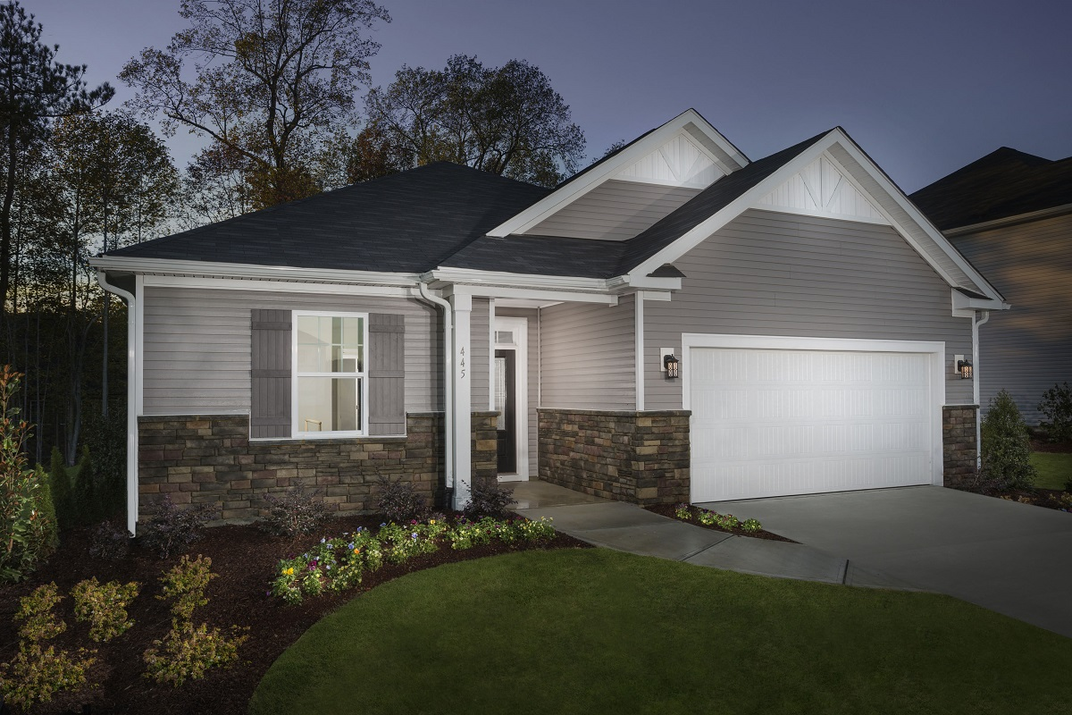 New Homes in Apex, NC - Belterra The Winstead Modeled at Partin Place