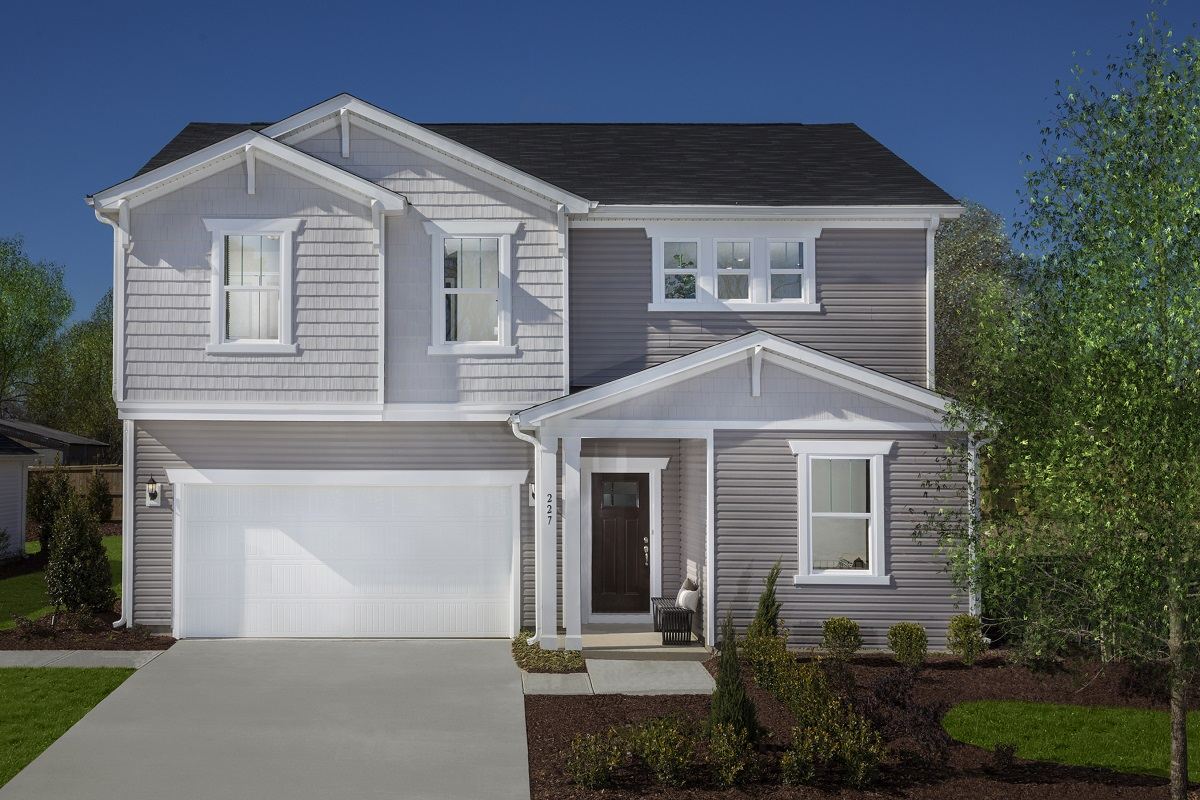 New Homes in Garner, NC - Harpers Landing The Coltrane II Modeled at Union Station
