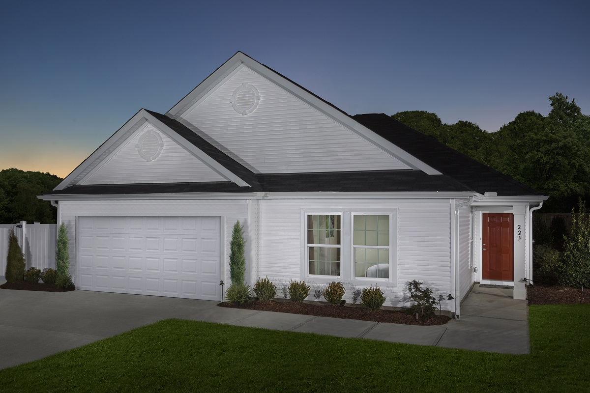 New Homes in Fuquay-Varina, NC - The Griffith II Modeled
