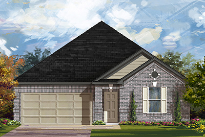 New Homes in Manor, TX - Plan A-2382 A