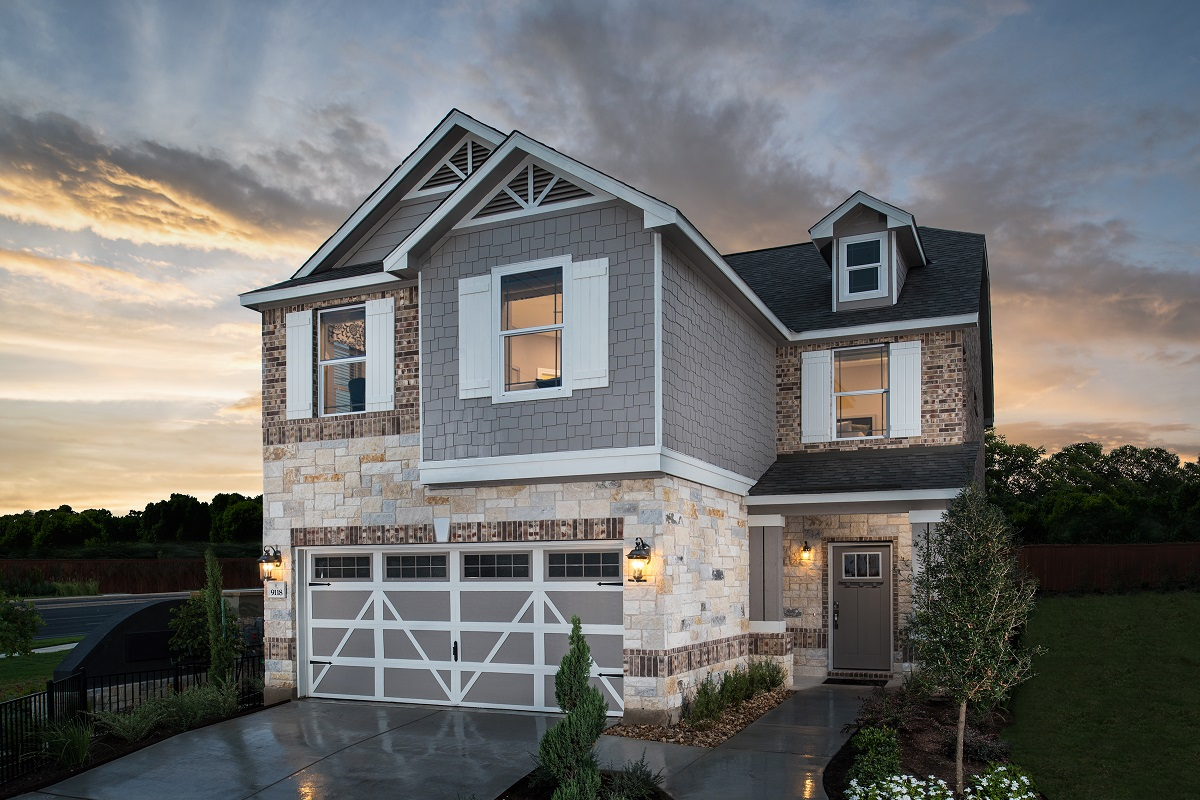 Plan F 1585 New Home Floor Plan In Brentwood Villas By Kb Home