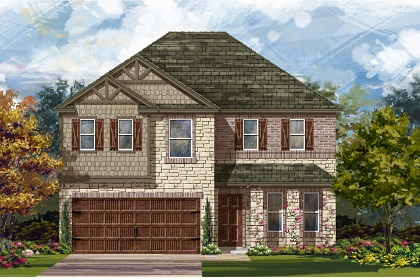 New Homes in Uhland, TX - Plan 2898