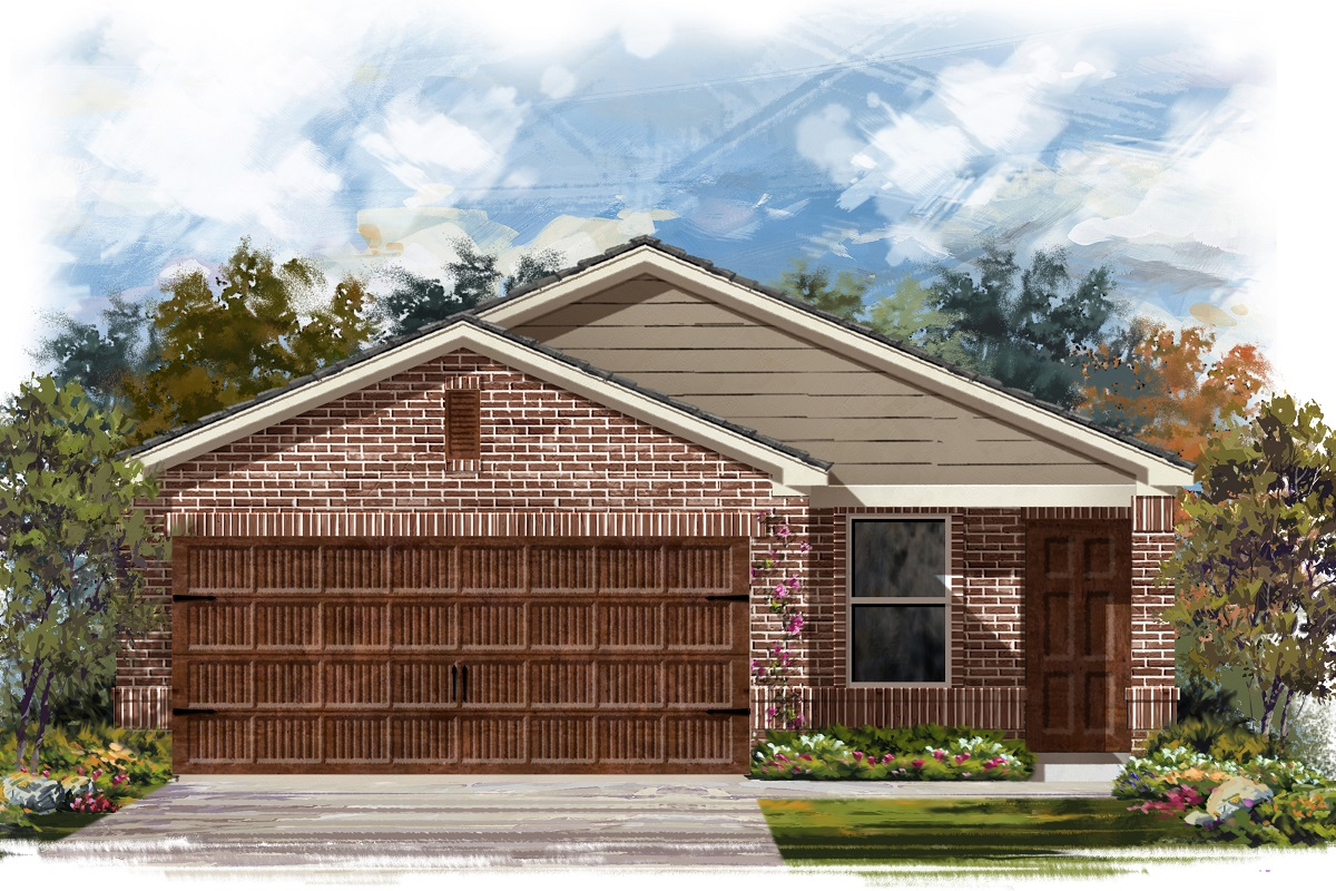 New Homes in Round Rock, TX - Plan F-1353 I