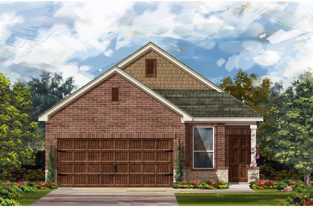 New Homes in Round Rock, TX - Plan F-1353