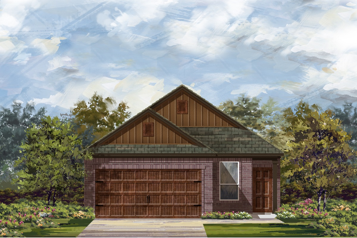 New Homes in Round Rock, TX - Plan F-1353 L