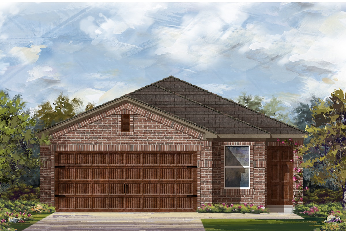 New Homes in Round Rock, TX - Plan F-1585