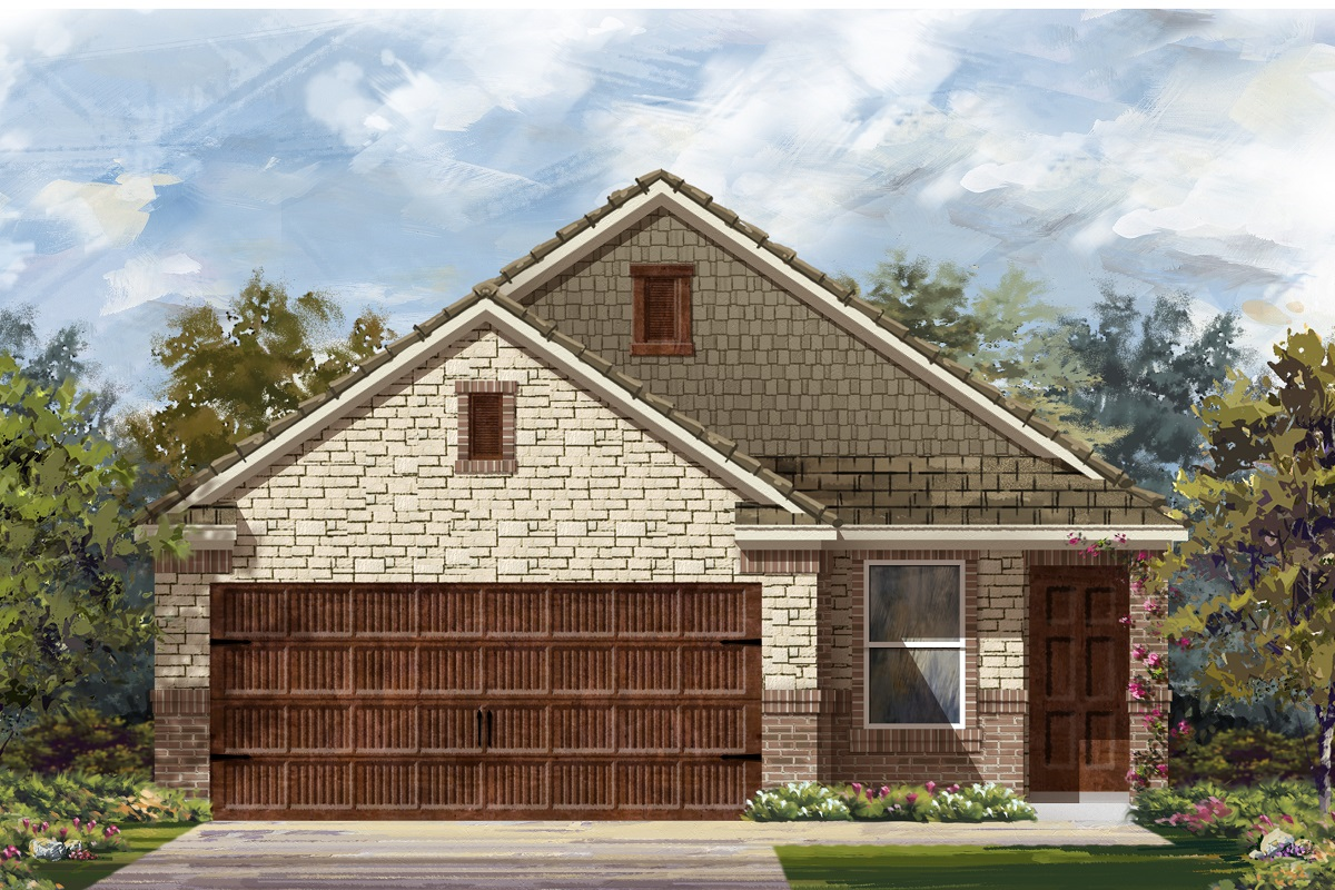 New Homes in Round Rock, TX - Plan F-1585 K