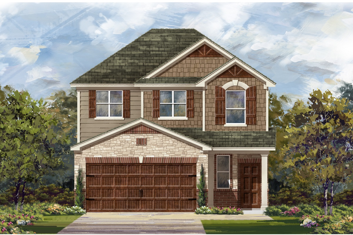 New Homes in Round Rock, TX - Plan F-1601