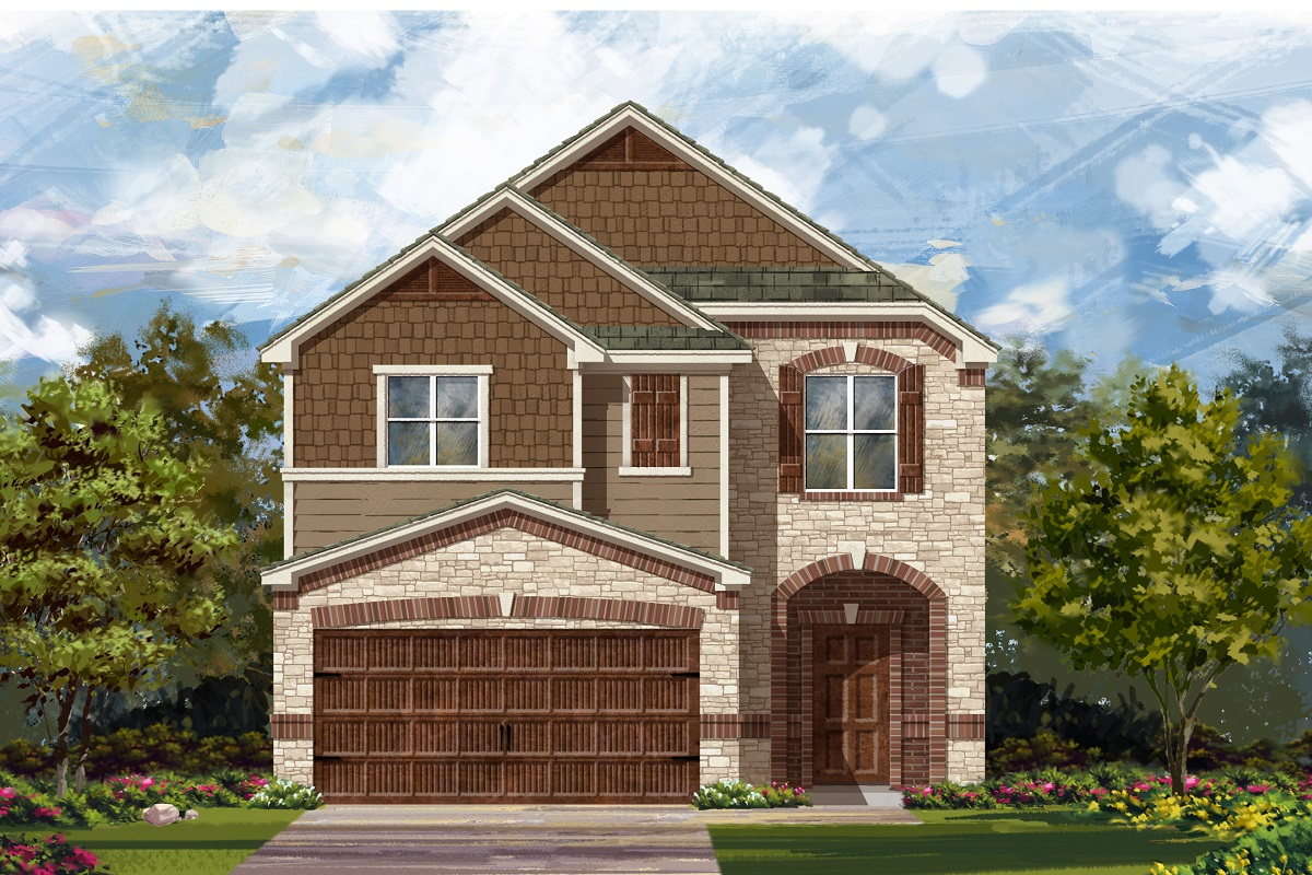 New Homes in Round Rock, TX - Plan F-1771 K