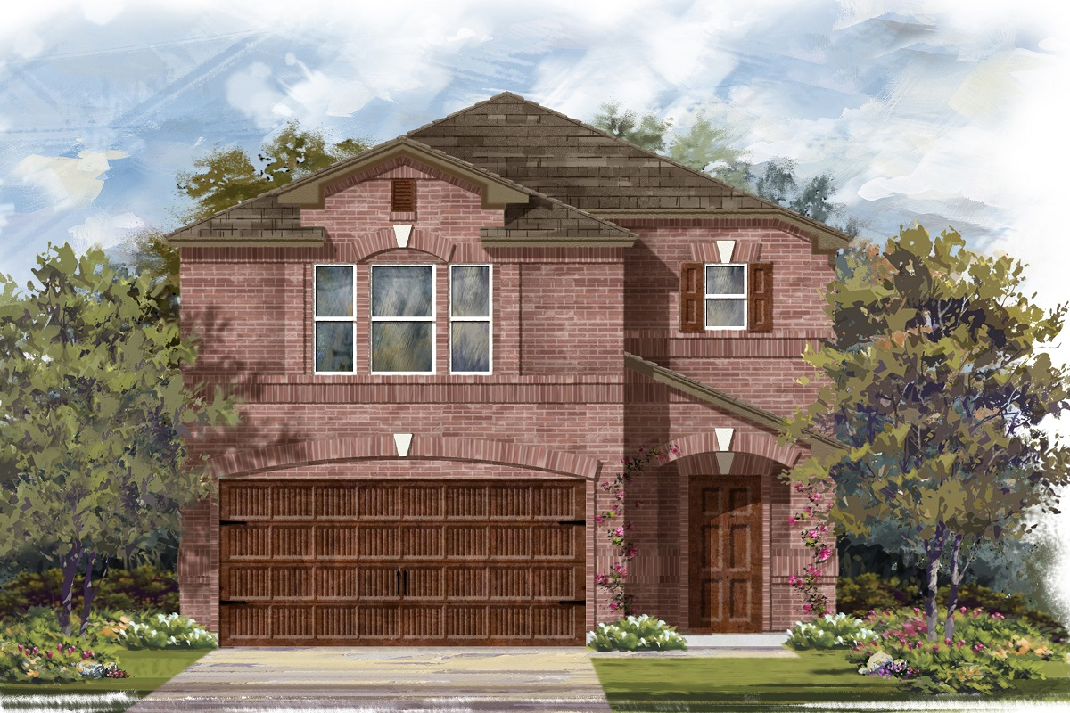 New Homes in Round Rock, TX - Plan F-1909 I