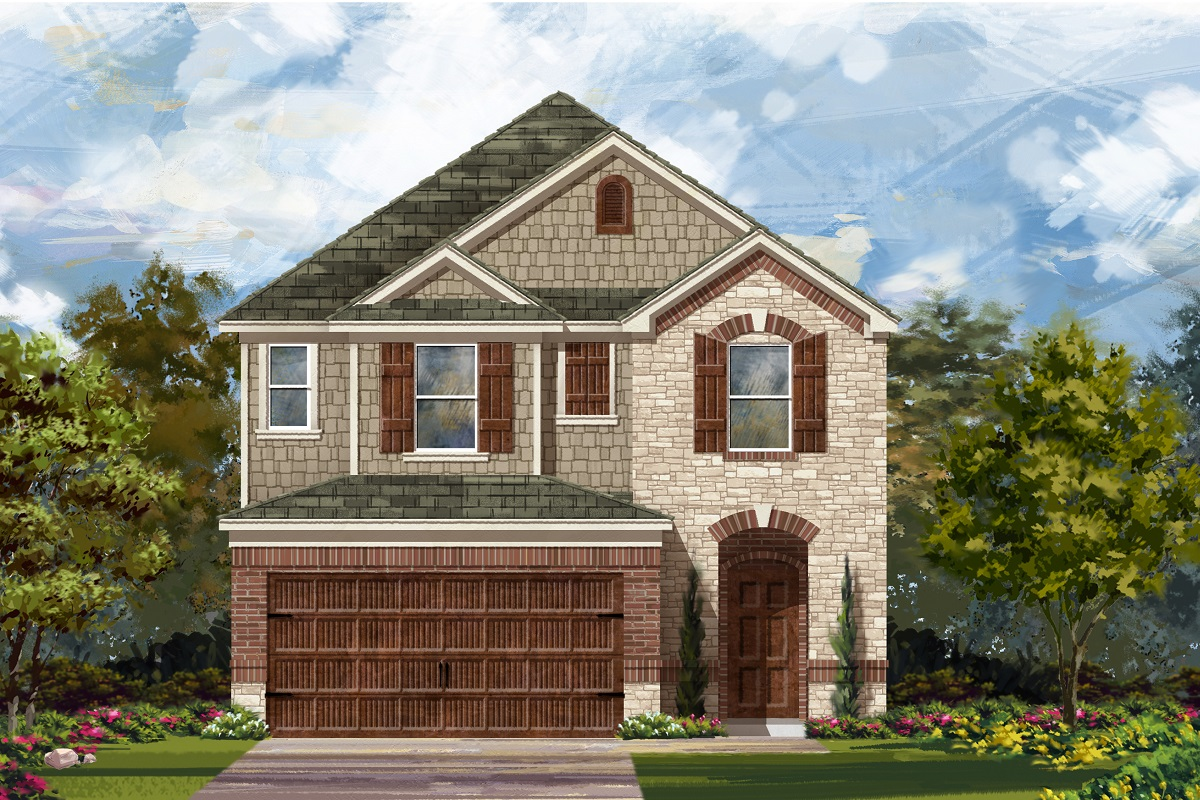 New Homes in Round Rock, TX - Plan F-2038