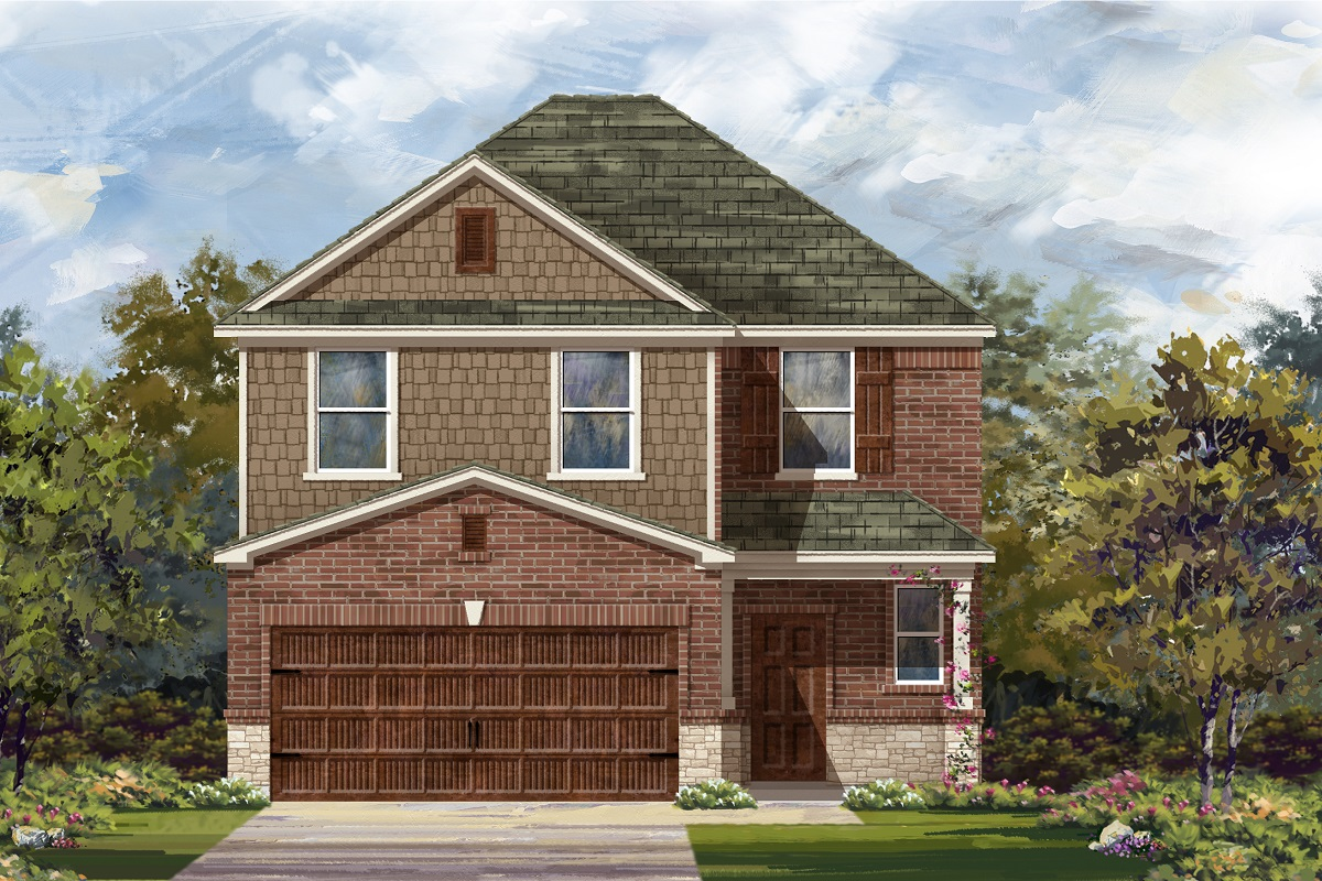 New Homes in Round Rock, TX - Plan F-2239