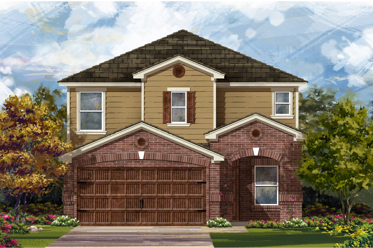 New Homes in Round Rock, TX - Plan F-2411