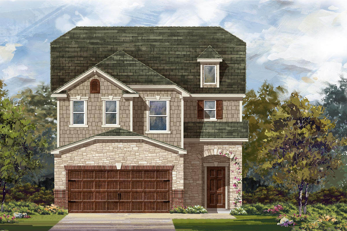 New Homes in Round Rock, TX - Plan F-2604
