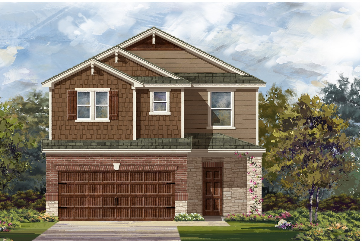 New Homes in Round Rock, TX - Plan F-2708