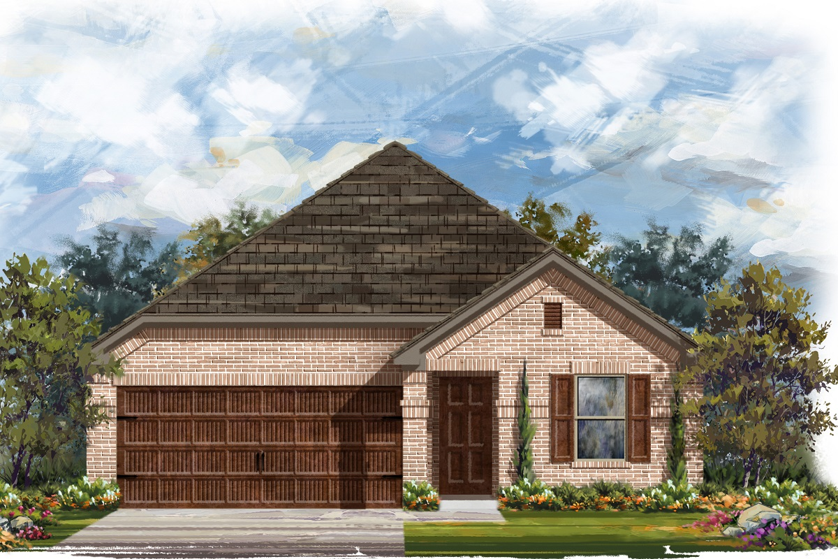 New Homes in Round Rock, TX - Elevation H